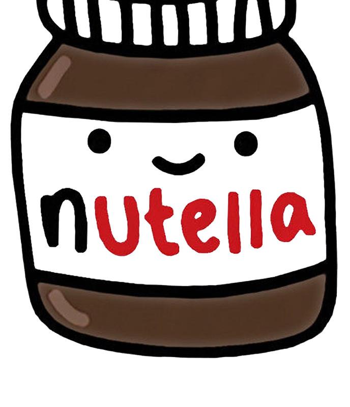 Nutella clipart cute Nutella RekiP Nutella Redbubble Skirts