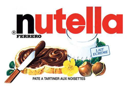Nutella clipart logo  NOT food to sues