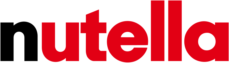 Nutella clipart logo 179 × svg 640 pixels