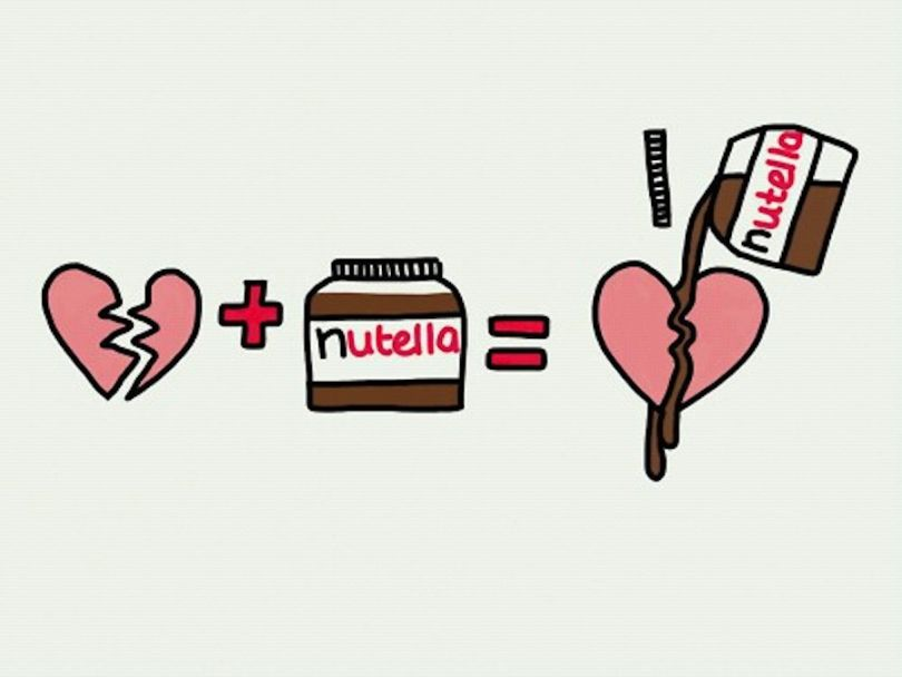 Nutella clipart logo Heart Nutella now: a fix