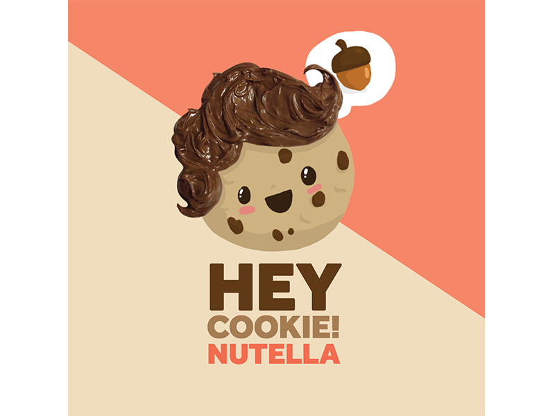 Nutella clipart logo Dribbble Nutella Anthony by Cookie