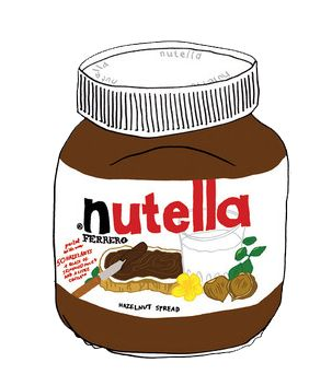 Nutella clipart love tumblr On png tumblr Google collage