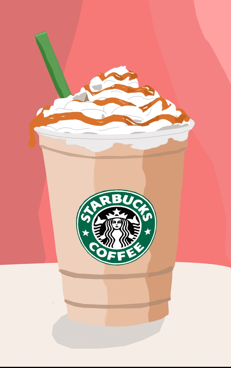Pink clipart starbucks  backgrounds Clipart love clipart