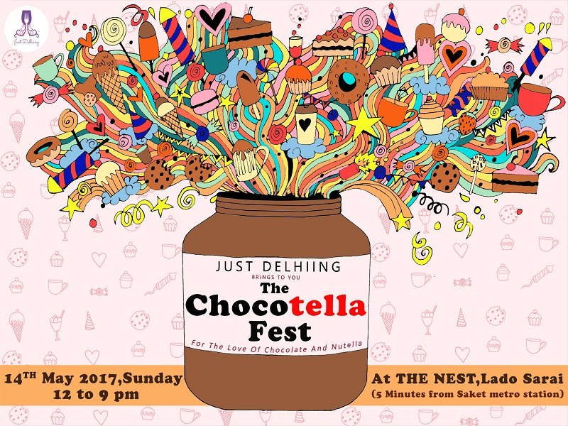 Nutella clipart word  Happening Everything We Delhi