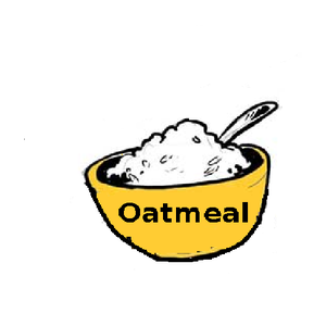 Oat clipart black and white Download Art Clipart Oatmeal Clip
