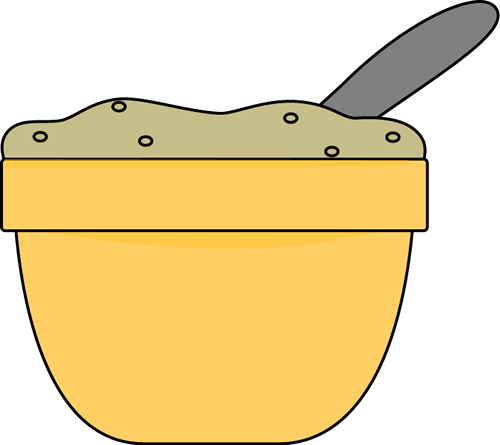 Oatmeal clipart bowl spoon The Clip Art of spoon
