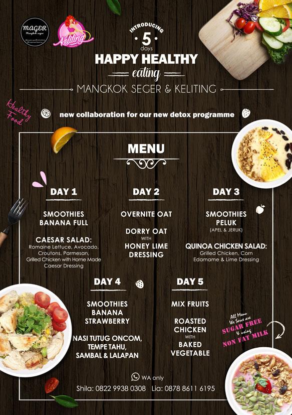 Oatmeal clipart mangkok Days Healthy – Keliting Keliting
