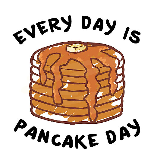 Oatmeal clipart pancake tuesday Is Pancake by Day by