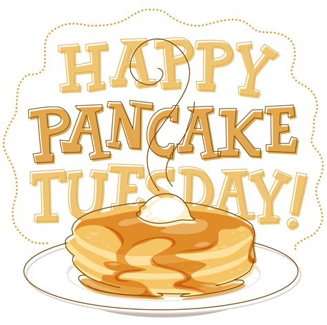 Oatmeal clipart pancake tuesday Pancake day last had on