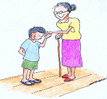 Other clipart authority Courteous elders respect showing to
