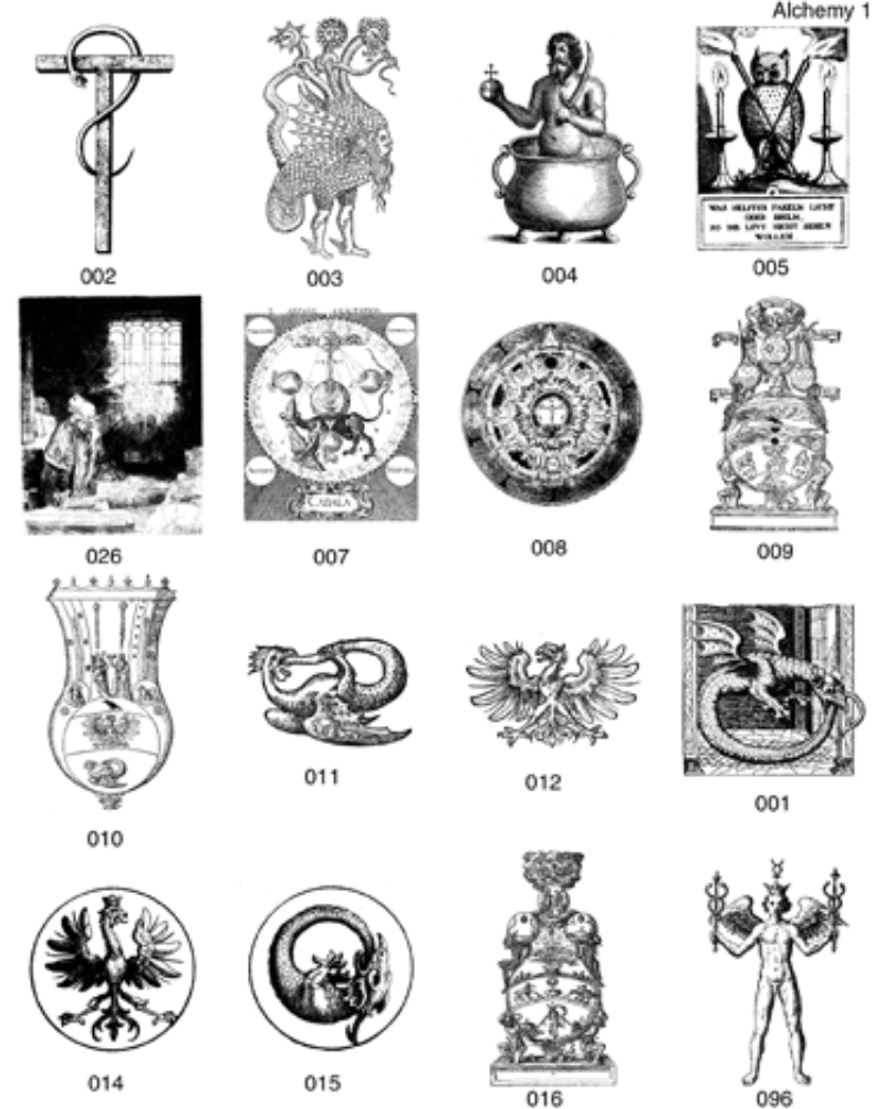 Alchemy clipart occult #5