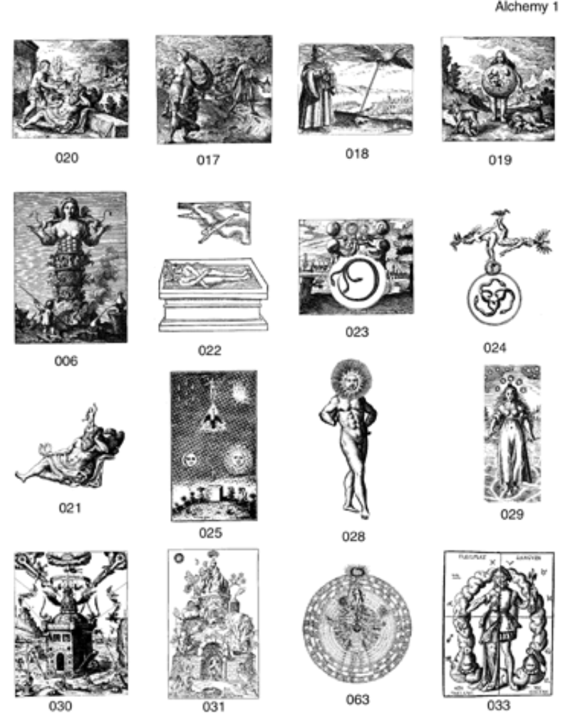 Alchemy clipart occult #4