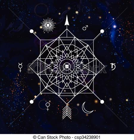 Alchemy clipart occult #2