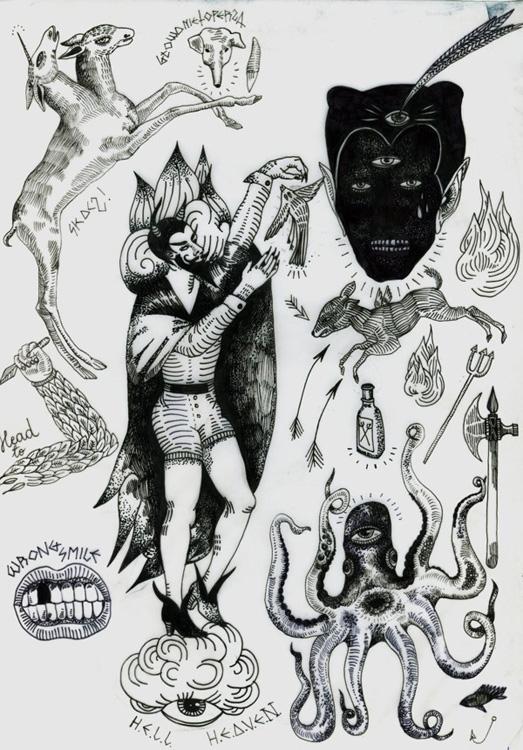 Occult clipart flash Tumblr  Tattoo com/d70d02a77e175f6d50ae74e5f95def9e media