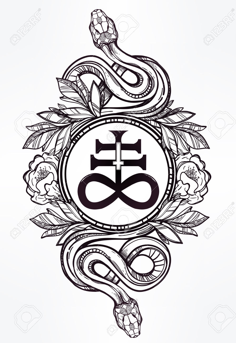 Drawn sykol demonic Symbols Image Occult by Lawless