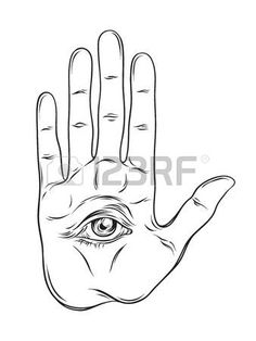Occult clipart hand Clipart Illustration vectors 5 And