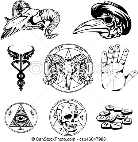 Occult clipart hand Of And Occult Sketch Occult