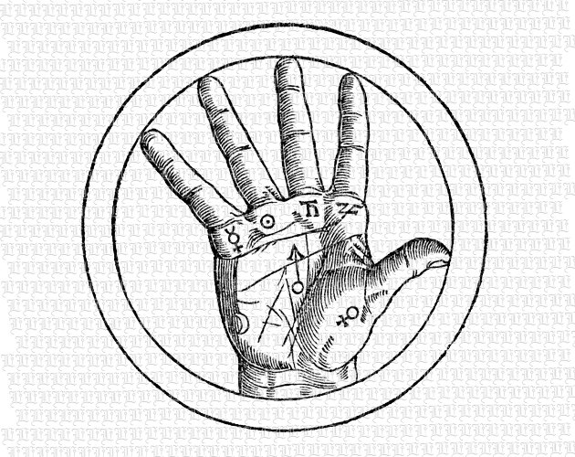 Occult clipart hand Planets Like Palmistry item? this