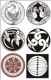 Occult clipart japanese seal Crest The (bilingual) Clip mons