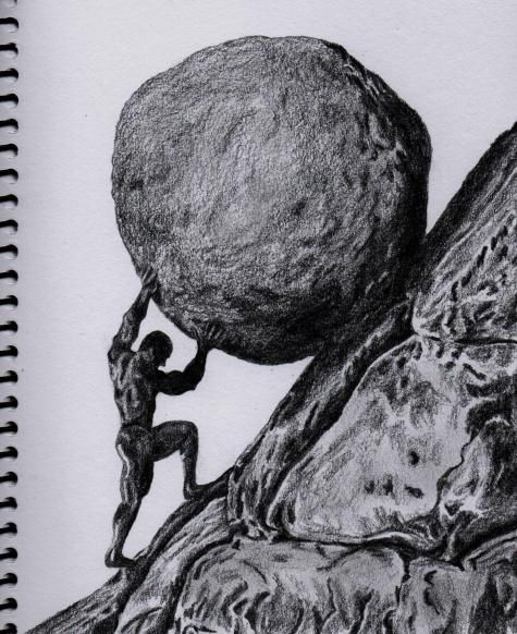 Occult clipart sisyphus 16 best Sisyphus Lunchbreaks of