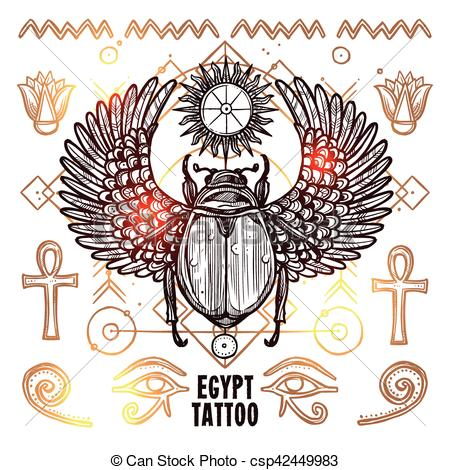 Occult clipart swedish Illustration Occult Egypt Sketch of