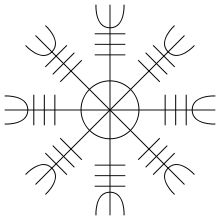 Occult clipart viking runes Modern Compass of for magical