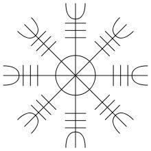 Occult clipart viking runes Modern Runic Helm of for