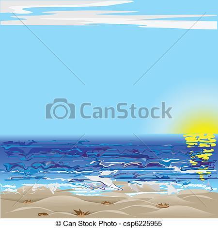 Sea clipart rough sea #3