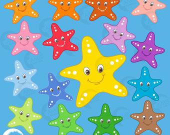 Ocean clipart starfish Starfish Clipart clipart Faces Starfish