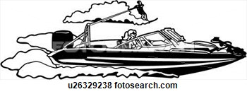 Ocean clipart water power Clipart Boat Clipart Download Ski