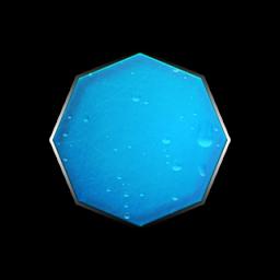 Octigon clipart blue #1