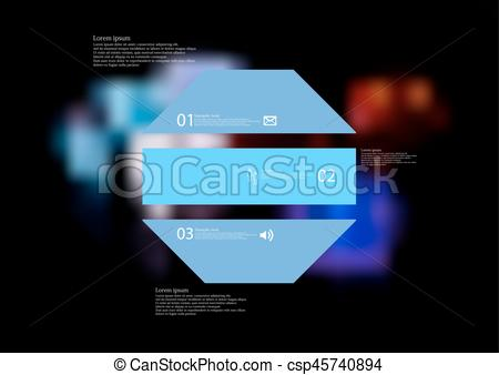Octigon clipart blue #9