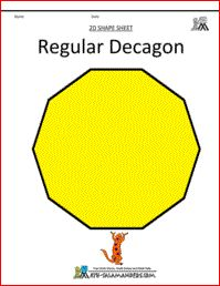 Shapes clipart dodecagon #1