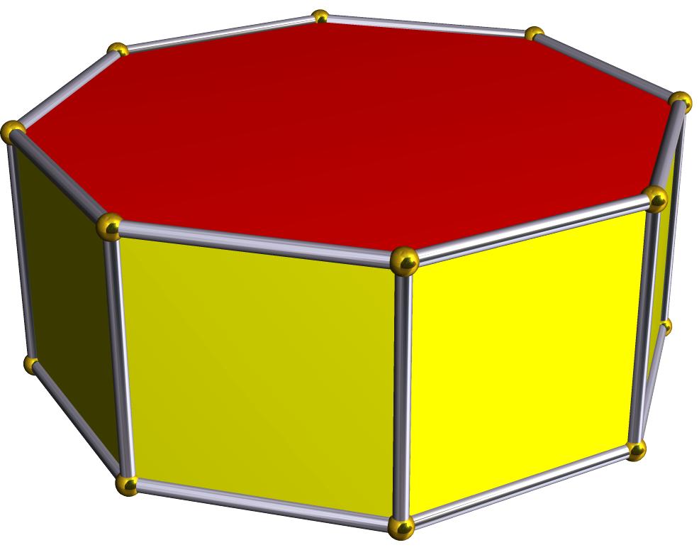 Octigon clipart face Prism Wikipedia Octagonal