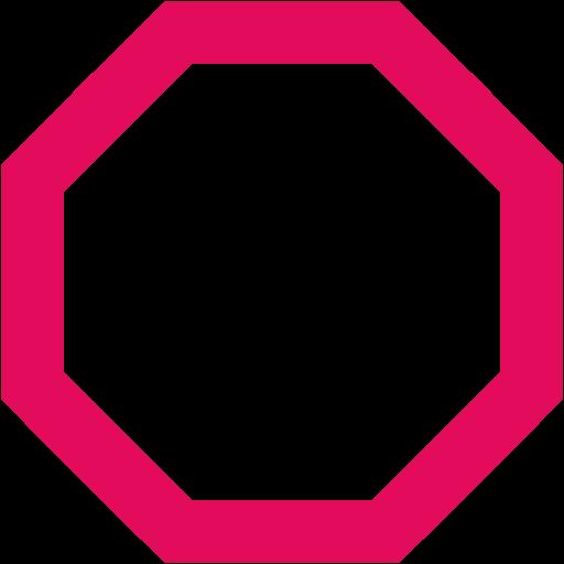 Octigon clipart octagon shape #5