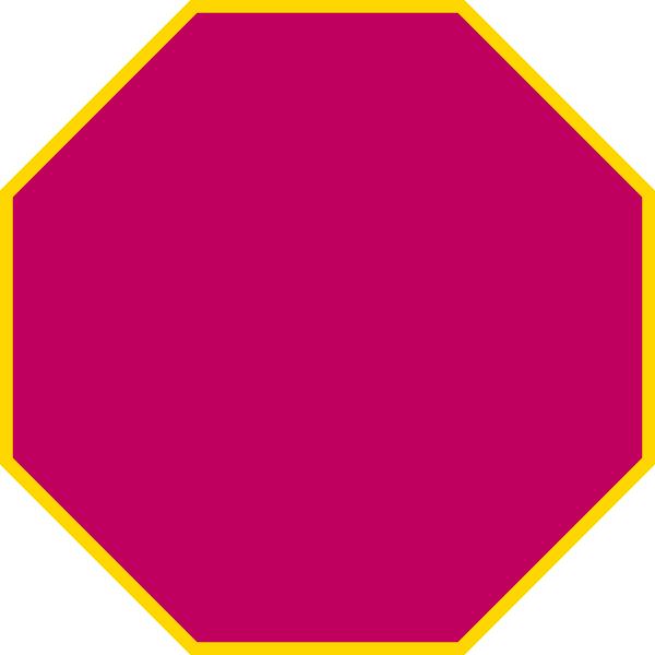 Octigon clipart octagon shape #2
