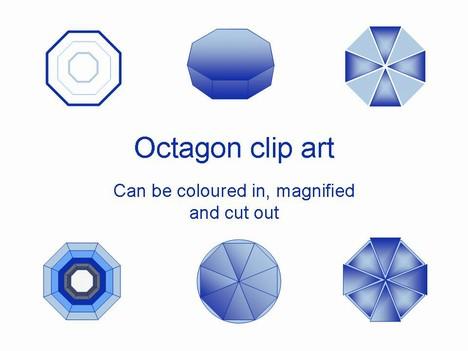 Octigons clipart hexagon #9