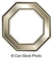 Octigon clipart octagon shape #13