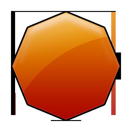 Octigon clipart octagon shape #10