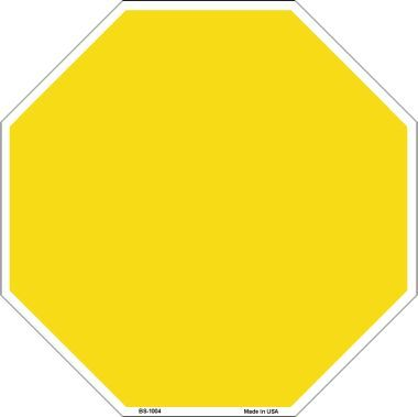Yellow clipart stop sign Octagon Stop Yellow Wholesale Wholesale