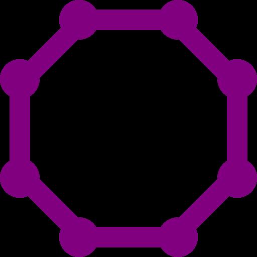 Octigons clipart purple Download octagon Free purple