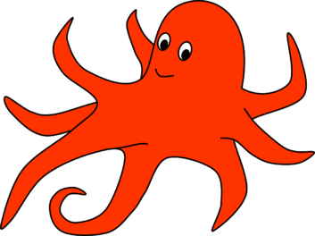 Octopus clipart printable Free Animal Printable Clip Clipart