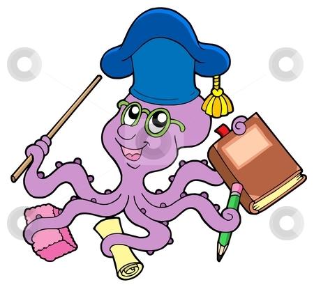 Octopus clipart teacher Teacher vector Octopus teacher Similar