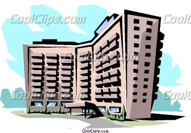 Office clipart apartment Apartment  office clip clip