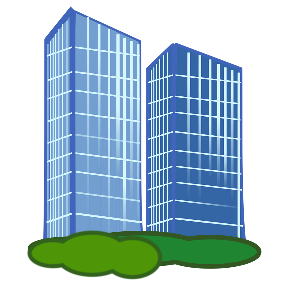 Business clipart commercial building 2 Cliparting kid building clipart
