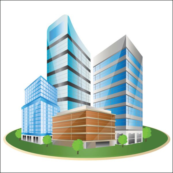 Office clipart business building Building clipart Business clipart building