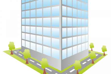 Office clipart business building Icon Small Building Office Clip