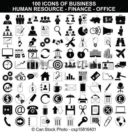 Office clipart business office Office human of of Set
