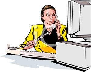 Office clipart cartoon Clipart Telephone Download Office Office