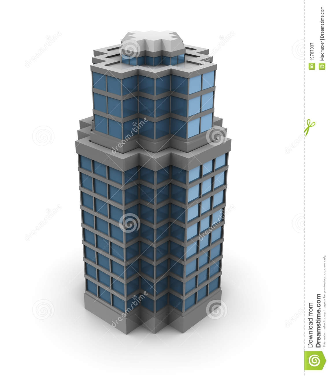 Office clipart city building #11